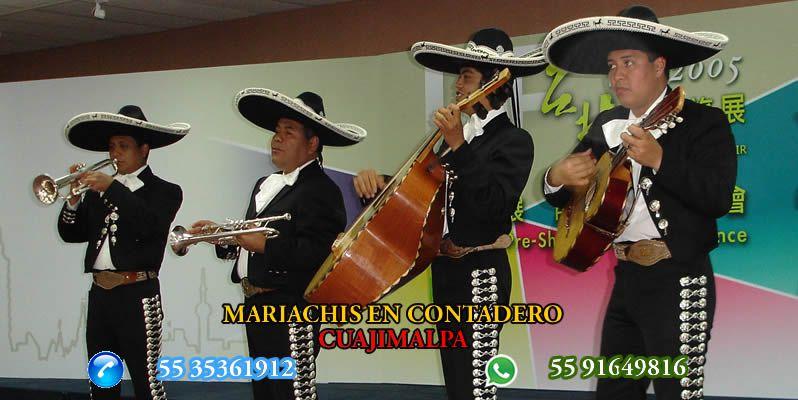 Mariachis en Contadero