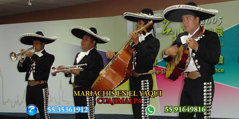 Mariachis en El Yaqui