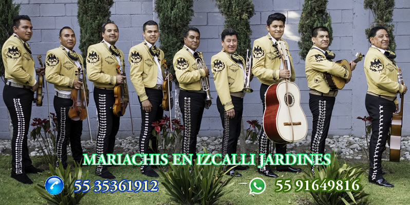 Mariachis en Izcalli Jardines