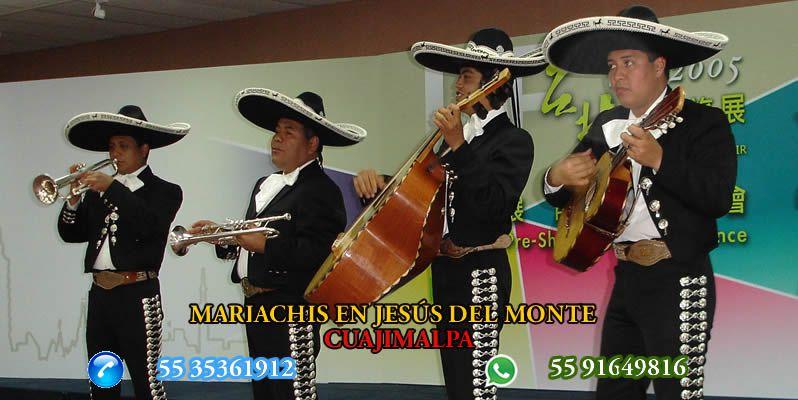Mariachis en Jesús del Monte