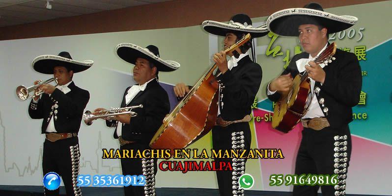 Mariachis en La Manzanita