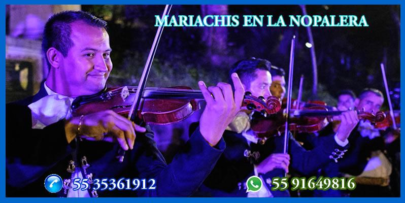 Mariachis en La Nopalera