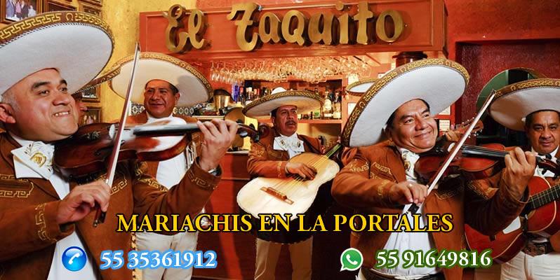 Mariachis en La Portales
