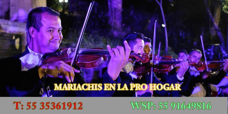Mariachis en La Pro Hogar