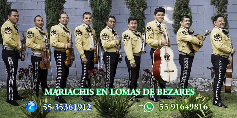 Mariachis en Lomas de Bezares