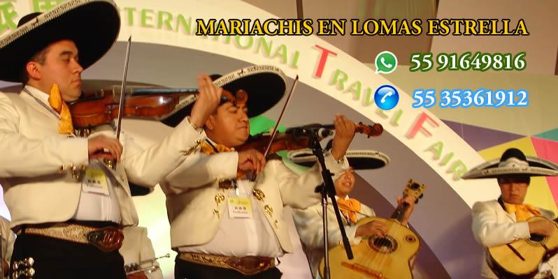 Mariachis en Lomas Estrella