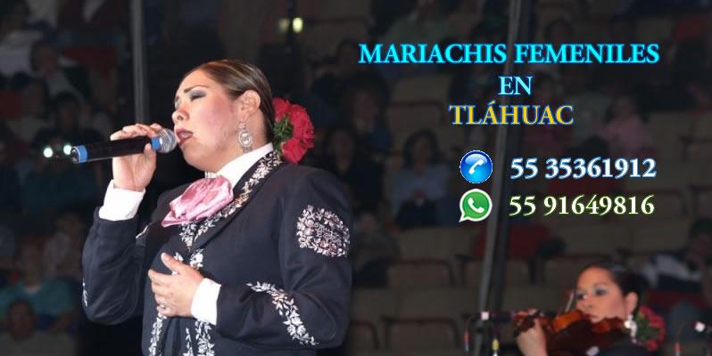 Mariachis femeniles en tlahuac