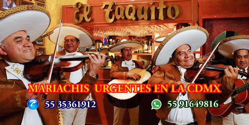 Mariachis Urgentes